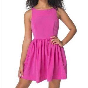 NEW/NWT Pink American Apparel Dress with Buttons M